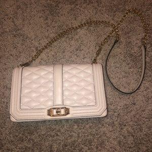 Rebecca Minkoff quilted chain crossbody purse